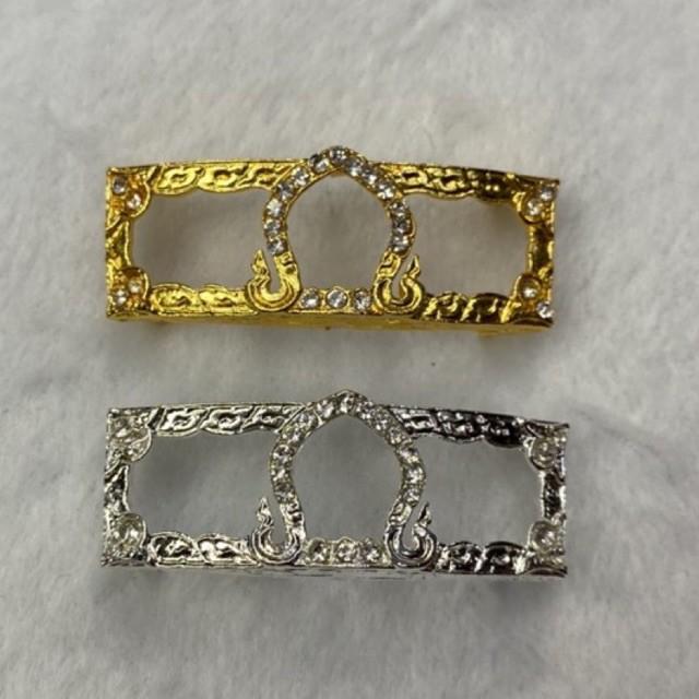 กรอบเลสขนาด 3 บาทชุบทอง24k และชุบเงินทองคำขาว ราคาโรงงานถูกที่สุด