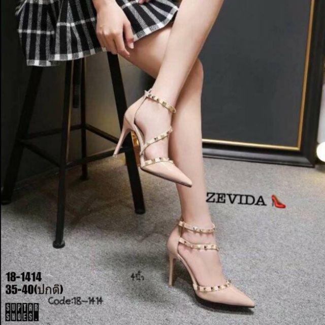 รองเท้าคัชชูส้นเข็มหุ้มส้น  งานเนี๊ยบสวยหรูมากกก แจ้งแบบทางแชทหรือช่องหมายเหตุ