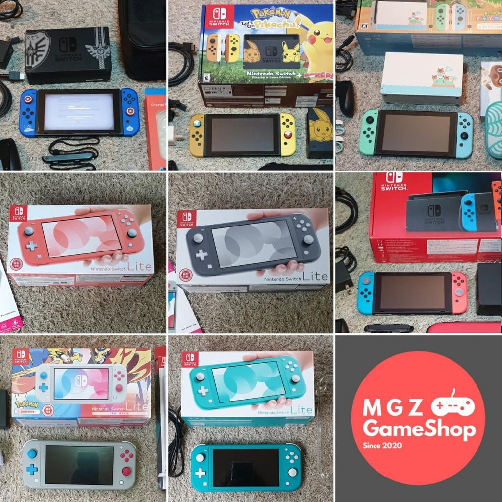 [ผ่อน 0% ได้] มือหนึ่ง มือสอง Nintendo Switch กล่องแดง กล่องขาว Nintendoswitch Lite Coral Animal Pokemon Dragon Quest