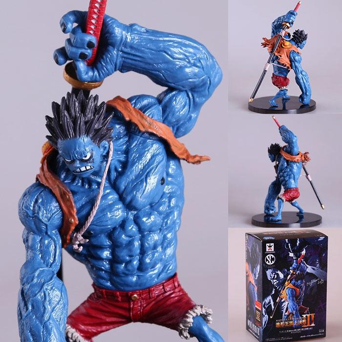 ฟิกเกอร์ Onepiece Action Figure Nightmare Blue Luffy Model 18 ซม.