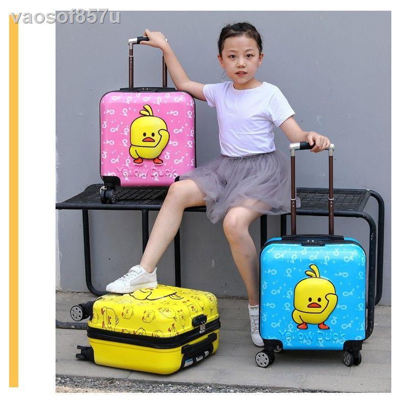 กระเป๋าเดินทางสําหรับเด็กรถเข็นเด็กใหม่กล่องรหัสผ่าน 18 นิ้วกระเป๋าเดินทาง 20 นิ้วกระเป๋าเดินทางการ์ตูนเด็กผู้ชายและเด็