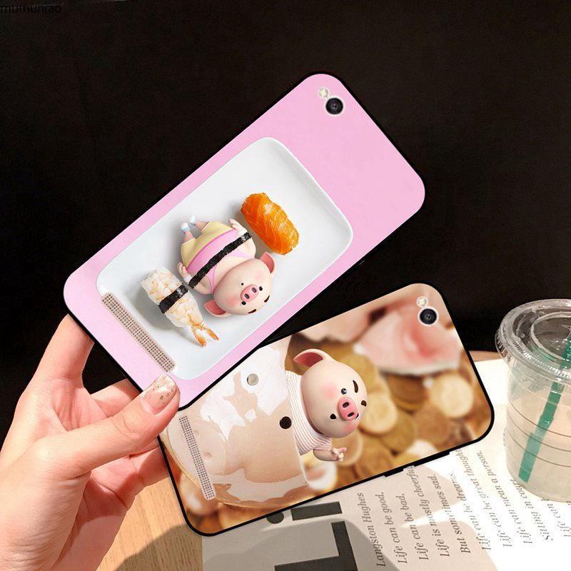 Samsung A3 A5 A6 A7 A8 A9 Pro Star Plus 2015 2016 2017 2018 Basket Pig Silicon Case Cover