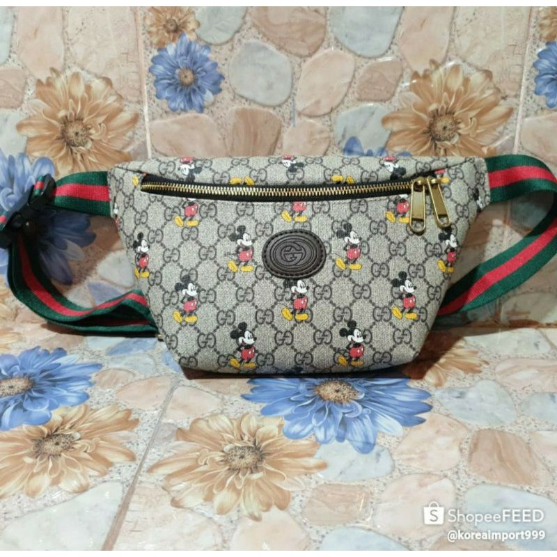 Gucci Mickey Collection Belt Bag🌺
