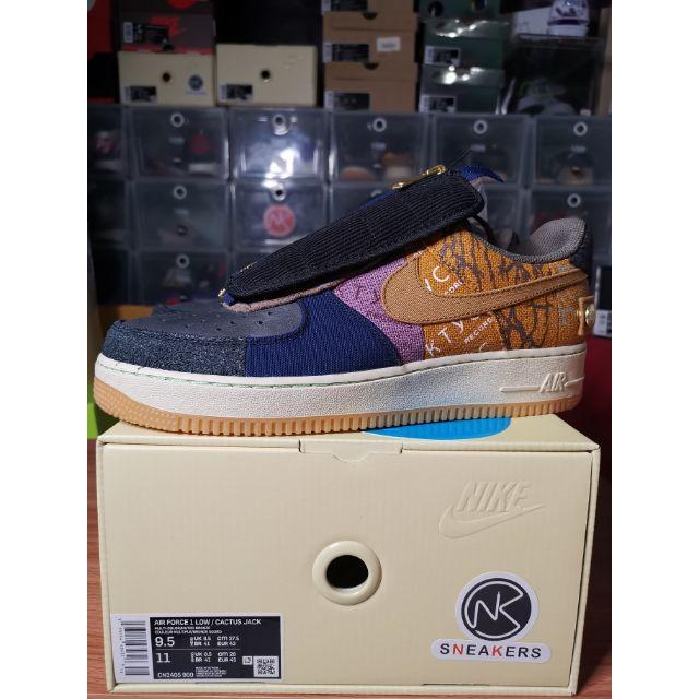 """**พร้อมส่ง** ของแท้ 💯 Nike Air Force 1 x Travis Scott """"Cactus Jack"""""""