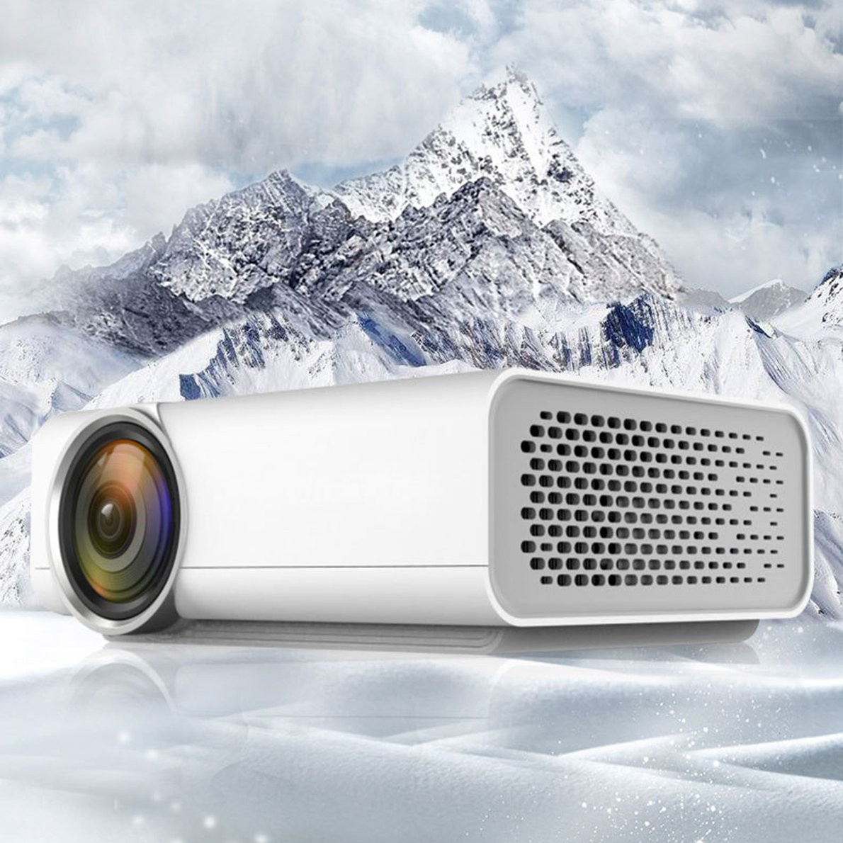 ⚡️โปรเจคเตอร์⚡️ YG520 Home LED Projector Mini Portable 1080P HD Projection For Home Theater