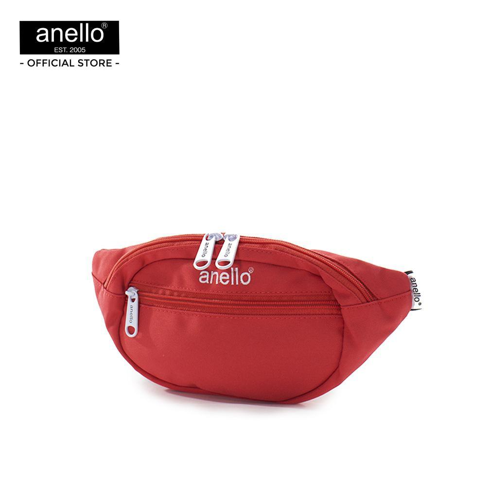 anello กระเป๋าคาดเอว B5 CS mini waist pouch AT-S0118T - Red