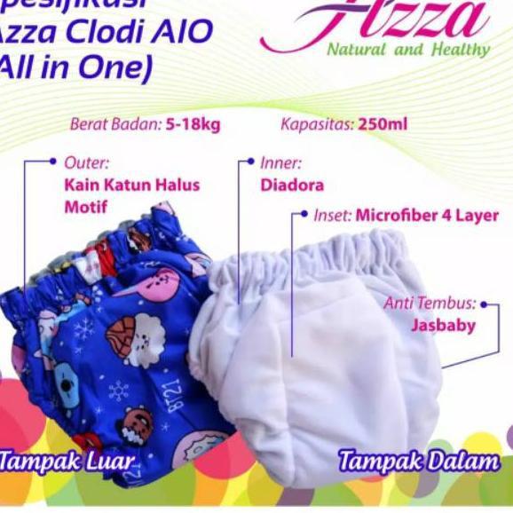 Clodi Aio Azza รองเท้าผ้าใบลําลองสําหรับเด็กทารกผู้ชายผู้หญิง