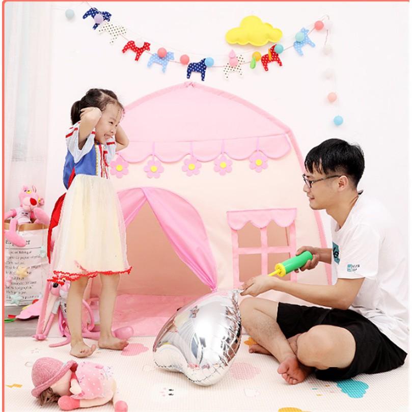 บ้านเด็ก เต็นท์เด็ก บ้านของเล่น พับเก็บได้ มีให้เลือก2สี สินค้าพร้อมส่ง