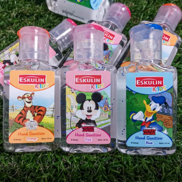 เจลล้างมือ สำหรับเด็ก Eskulin kids Hand Sanitizer 50ml.
