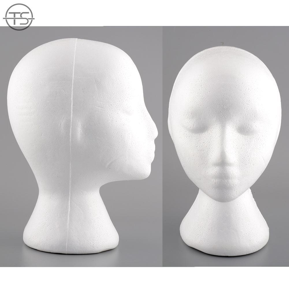 Cheapest Price Female Styrofoam Foam Manikin Head Mannequins