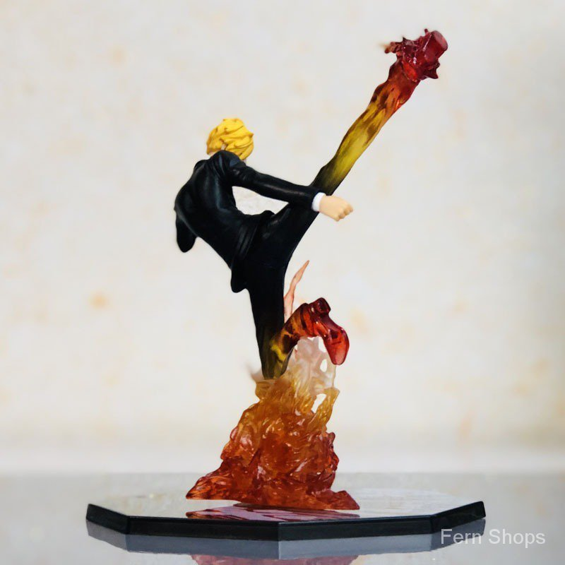 Anime One Piece Vinsmoke Sanji Diable Jambe PVC Collection Figure Model Gift