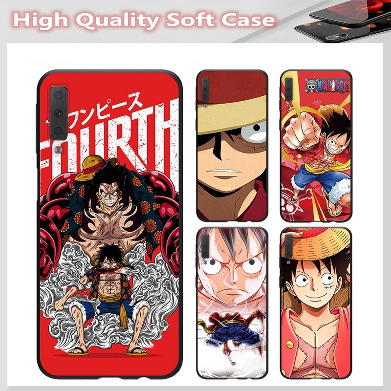 casing for SAMSUNG A2 CORE J7 Pro J7 PLUS A6 A6+ A7 A8 A8+ A8 Star A9 2018 Cover Luffy Soft Case