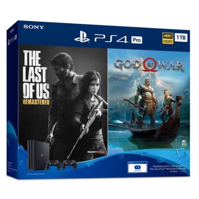 (( คุ้มกว่านี้ไม่มีอีกแล้ว )) เครื่องเกมส์ PS4 Pro Bundle 2 เกมส์ 2 จอย