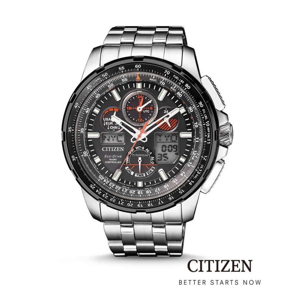 CITIZEN Eco-Drive JY8069-88E Radio Controlled Promaster Sky Super Skyhawk Men's Watch
