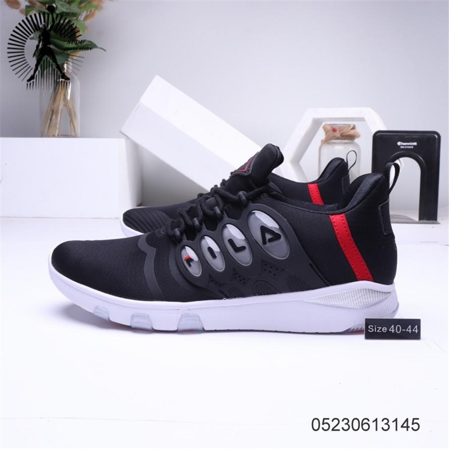 FILA รองเท้าผู้ชายรองเท้าผ้าใบแฟชั่นรองเท้าวิ่ง283