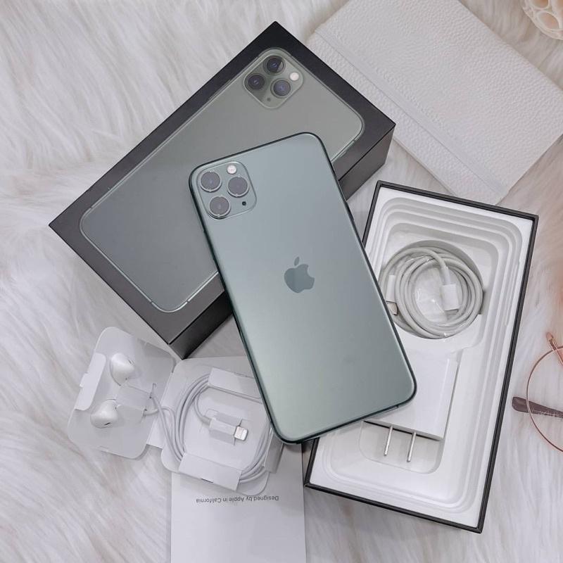 #8830 iPhone 11 Pro Max (64gb) สีเขียว มือสอง เครื่องศูนย์ไทย TH 🇹🇭 สภาพสวย ครบกล่อง การใช้งานปกติทุกอย่าง 📲