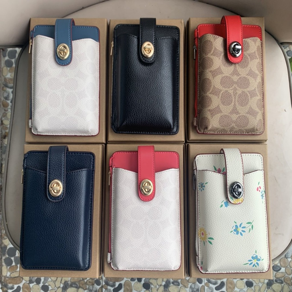 Coach coach 2020 new women's chain mobile phone bag with single shoulder