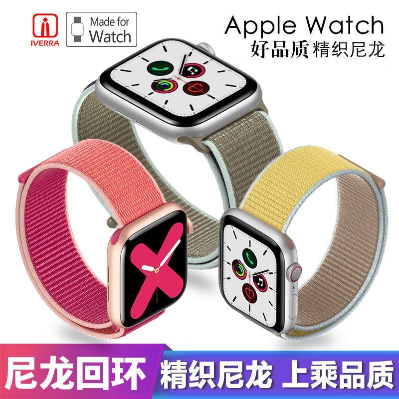 สายนาฬิกาข้อมือไนล่อนสําหรับ applewatch applewatch 3/4/5/6