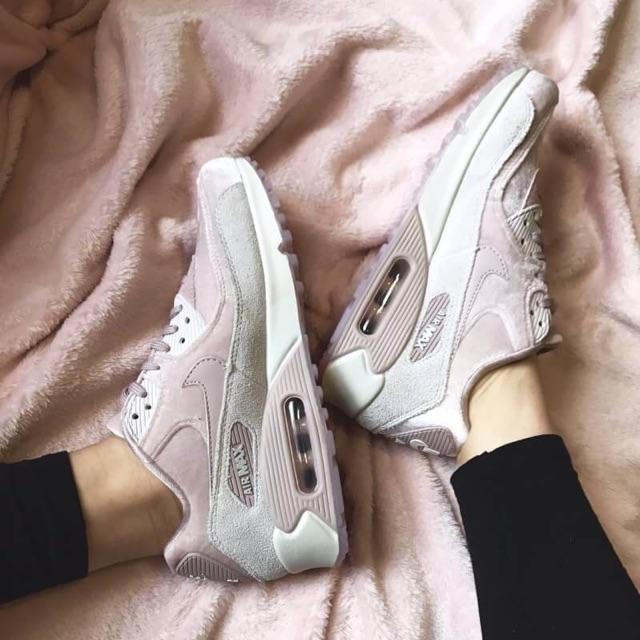 รองเท้า Nike Air Max 90 LX สีชมพู ของแท้
