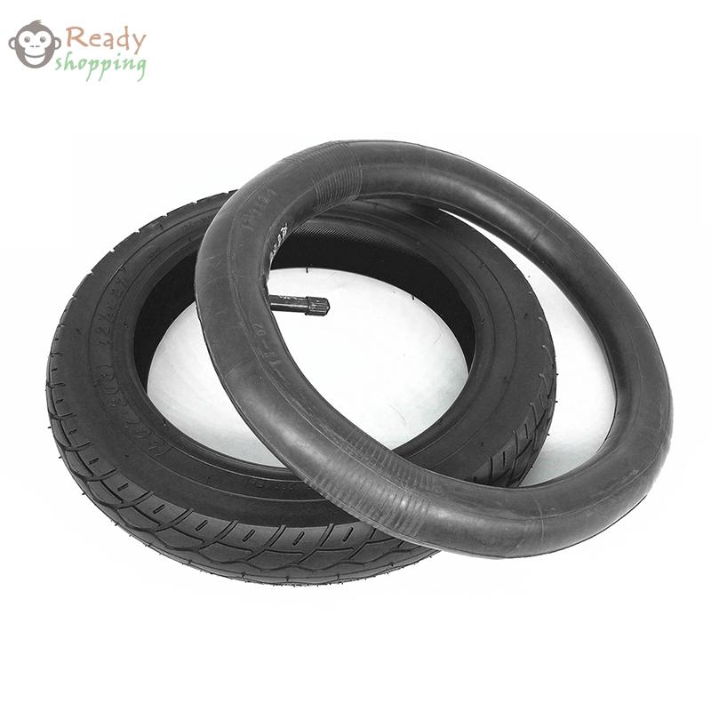 """12-1//2/""""x 2-1//4/"""" Tire Tube Inner Outer Tyre 1pc// Set For Xiaomi Electric Scooter"""