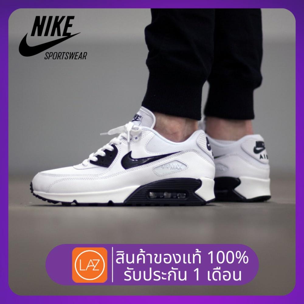 จัดส่งฟรีโปรโมชั่นสินค้าแท้NIKE AIR MAX 90 running shoes sports shoes Breathable and lightweightรองเท้าผู้ชาย รองเท้าสตร