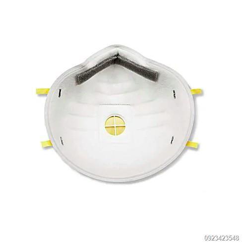 ✶✹3M หน้ากากป้องกันฝุ่นชนิดมีวาล์ว รุ่น 8210V N95 070480767 มีน้อยมาก