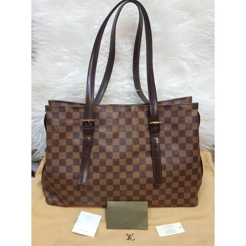 กระเป๋าหลุยส์ทรงช้อปปิ้ง(แท้💯มือ2) Lv Tote Damier Bag