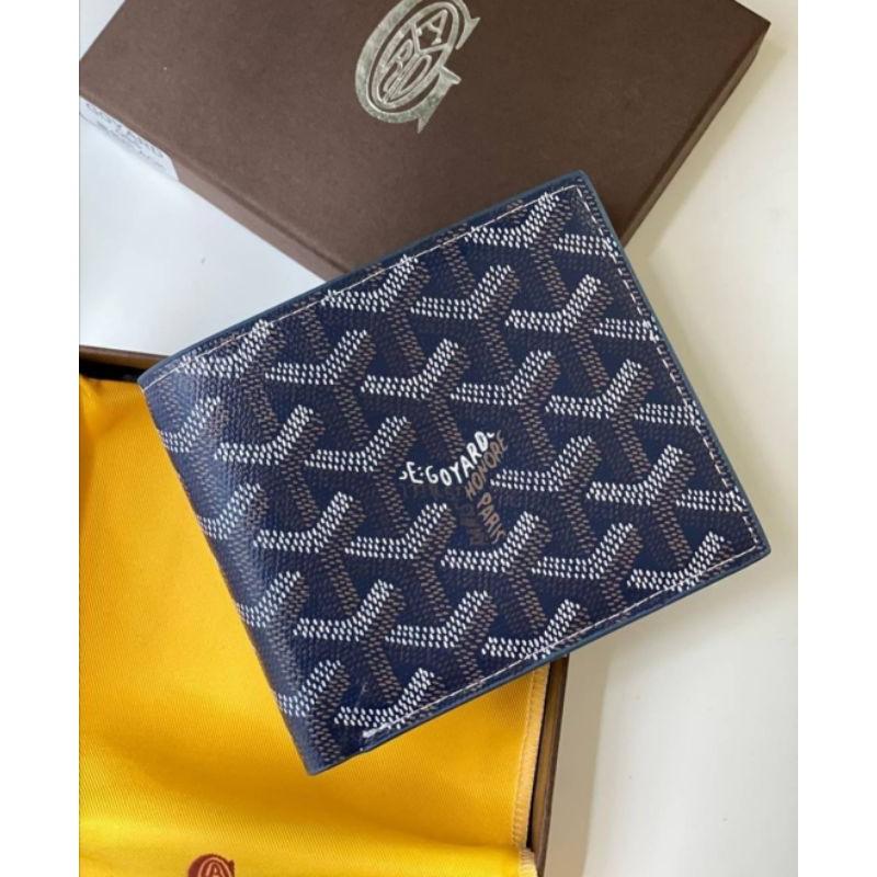 Goyard wallet Original Navy