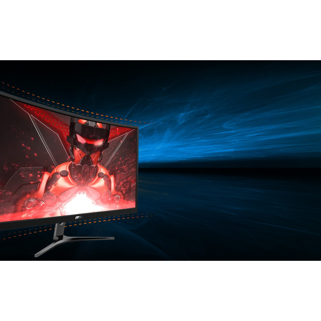 Monitor 23.6'' จอคอมพิวเตอร์ MSI Optix G241VC (VA, VGA, HDMI) 75Hz CURVE FreeSync