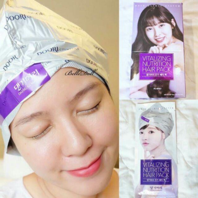 หมวกอบไอน้ำแทงกีโมรี Daeng Gi Meo Ri Vitalizing Nutrition Hair Pack