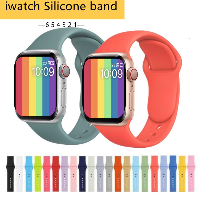 [สายนาฬิกาเท่านั้น] สร้อยข้อมือสายนาฬิกาสำหรับ Apple Watch สายนาฬิกาสำหรับกีฬา 38mm 42mm 40mm 44mm Series 3 Series 4 Series 5 นาฬิกาข้อมือapple Applewatchmilaneseloopstrap Applewatchseries3 Applewatch