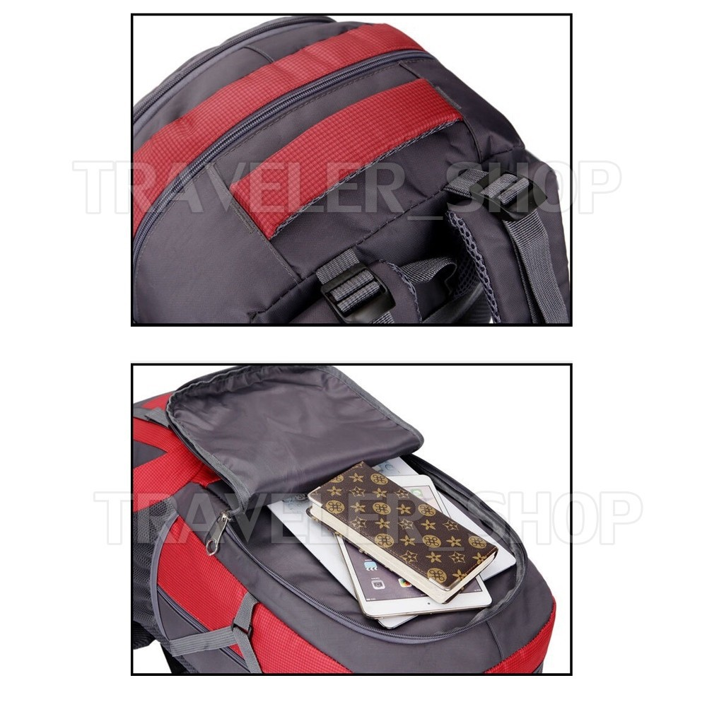 ✹☒✟Traveler Backpack 40 Lกระเป๋าเป้  กระเป๋าเดินทาง กระเป๋าท่องเที่ยว -T14