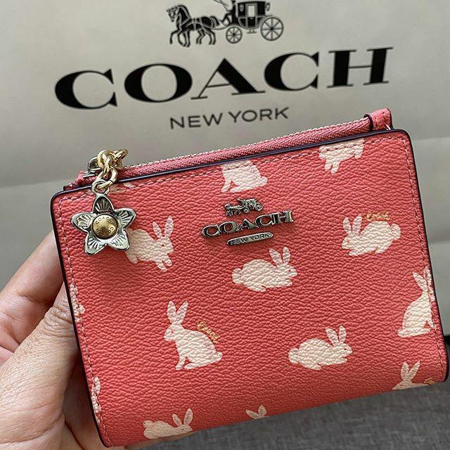 พร้อมส่ง Coach limited  กระเป๋าสตางค์ ใบสั้น SNAP