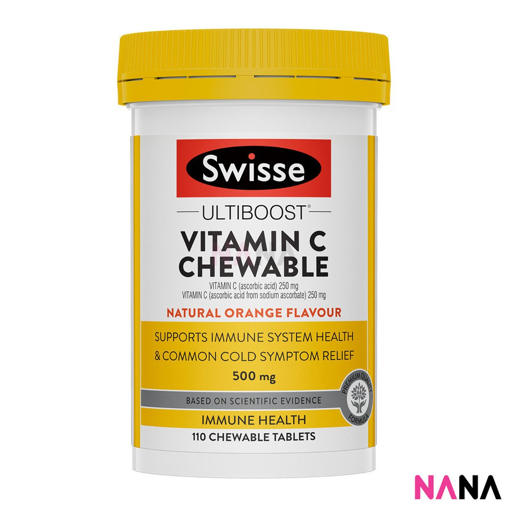 Swisse Vitamin C Chewable 110 Tablets