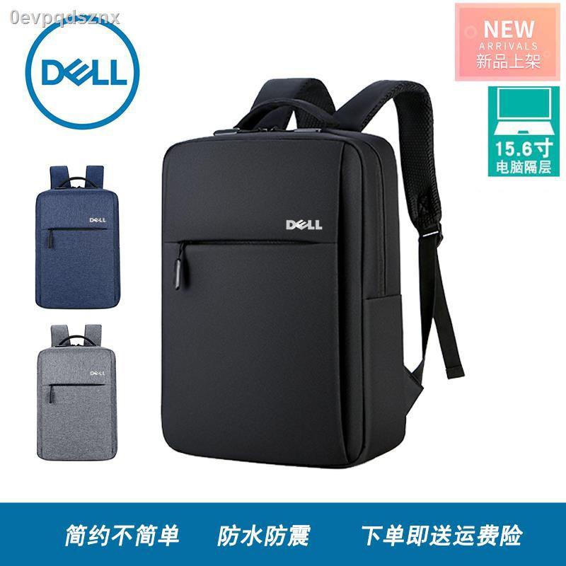 ✖۞Dell กระเป๋าเป้สะพายหลังกระเป๋าแล็ปท็อป 14 นิ้ว 15.6 นิ้วชายและหญิงกระเป๋านักเรียนเดินทางเพื่อธุรกิจ