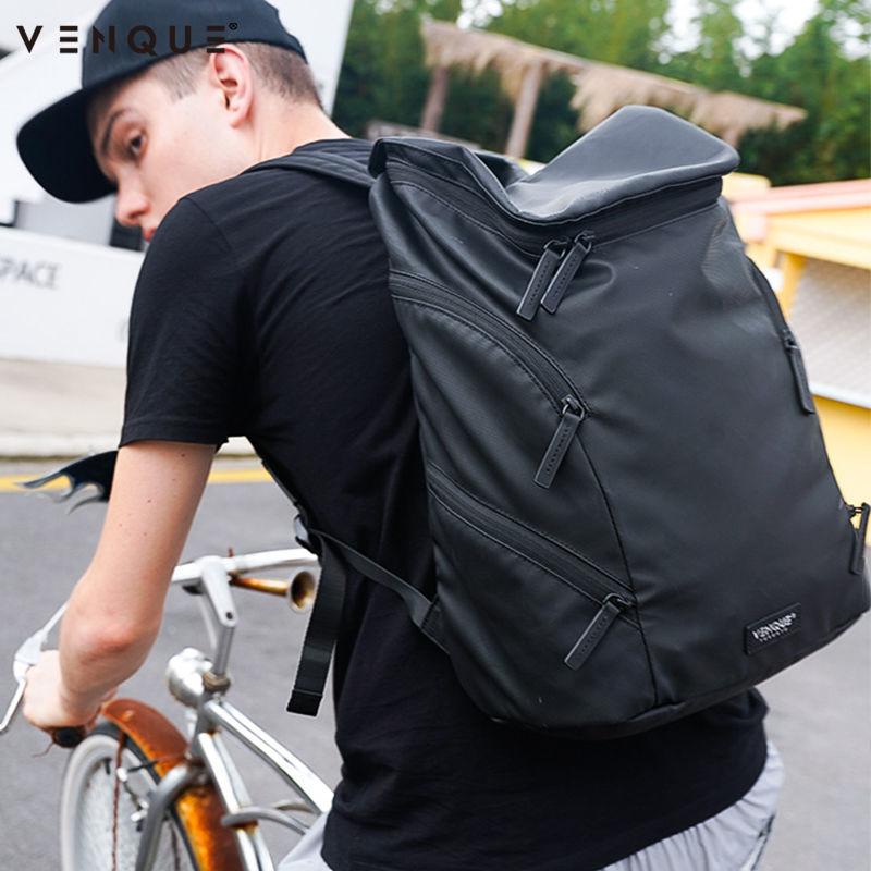 ร้อน范克(VENQUE)อเมริกาเหนือ Tide แบรนด์กระเป๋าสะพาย สบายๆความจุขนาดใหญ่เดินทางกระเป๋าเป้สะพายหลัง 14นิ้วกระเป๋าเป้สะพายหล