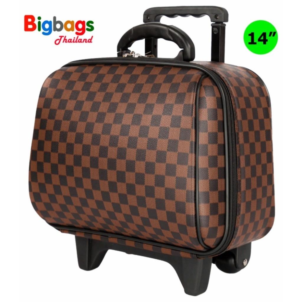 MZ Polo กระเป๋าเดินทางล้อลาก 14 นิ้ว รุ่น 99414 (Brown)