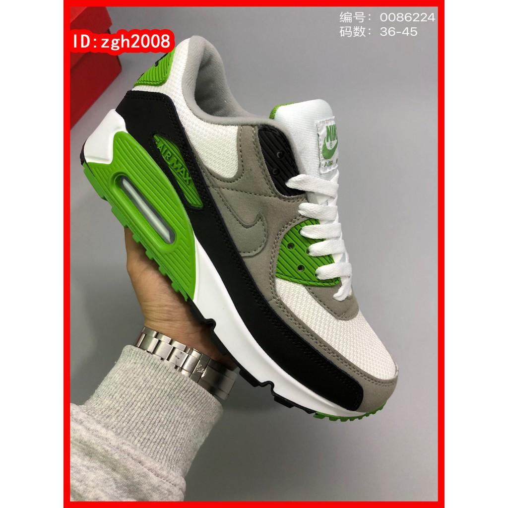 [Zgh2008] รองเท้าวิ่งผู้ชาย Nike Air Max 90 AM90 สำหรับผู้ชายและผู้หญิง