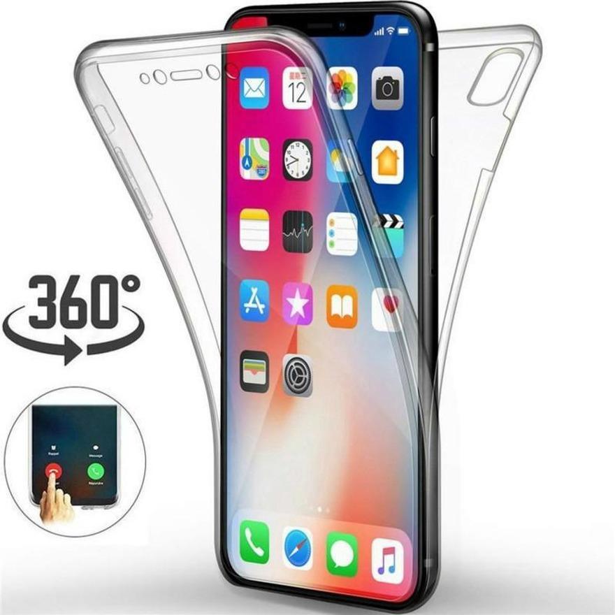 เคสโทรศัพท์มือถือแบบสองด้านสําหรับ Iphone Se 20 11 Pro Max X Xr Xs Xs Max 7 8 6 S 6 Plus