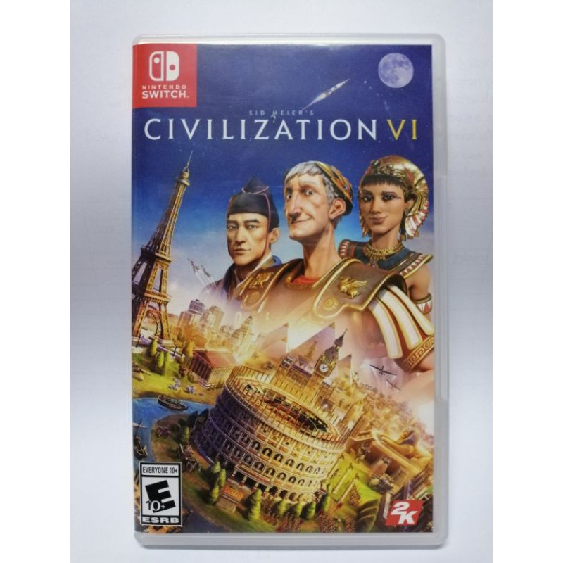 [Nintendo Switch] Civilization VI มือสอง