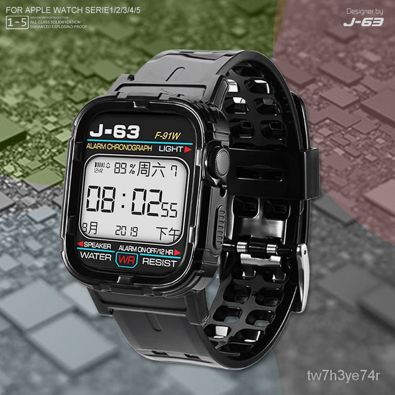 สายนาฬิกา applewatch สาย applewatch สาย applewatch แท้ Apple watchสายนาฬิกา AppleSEสายiWatch6สาย Apple54321กับตัวแทน