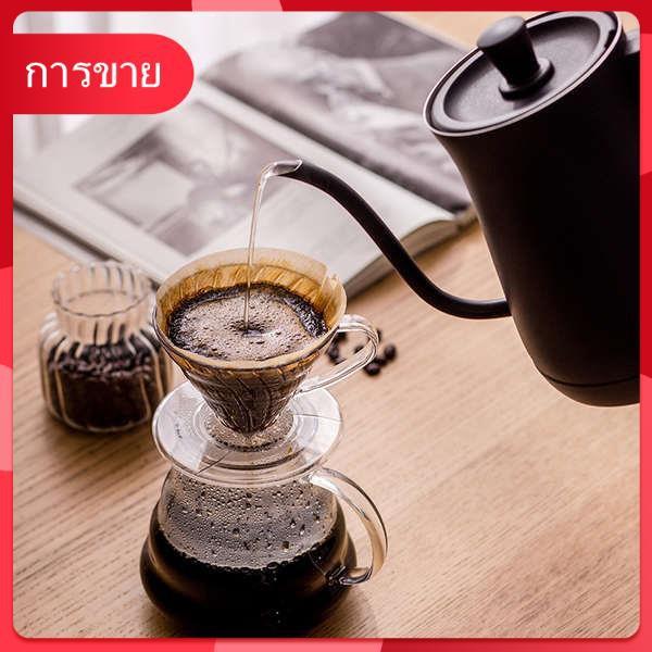 Japan Alice เครื่องชงกาแฟทำมือควบคุมอุณหภูมิในครัวเรือนชาชิ้นเดียวกาต้มน้ำไฟฟ้าฉนวนกันความร้อนขนาดเล็กกาต้มน้ำ