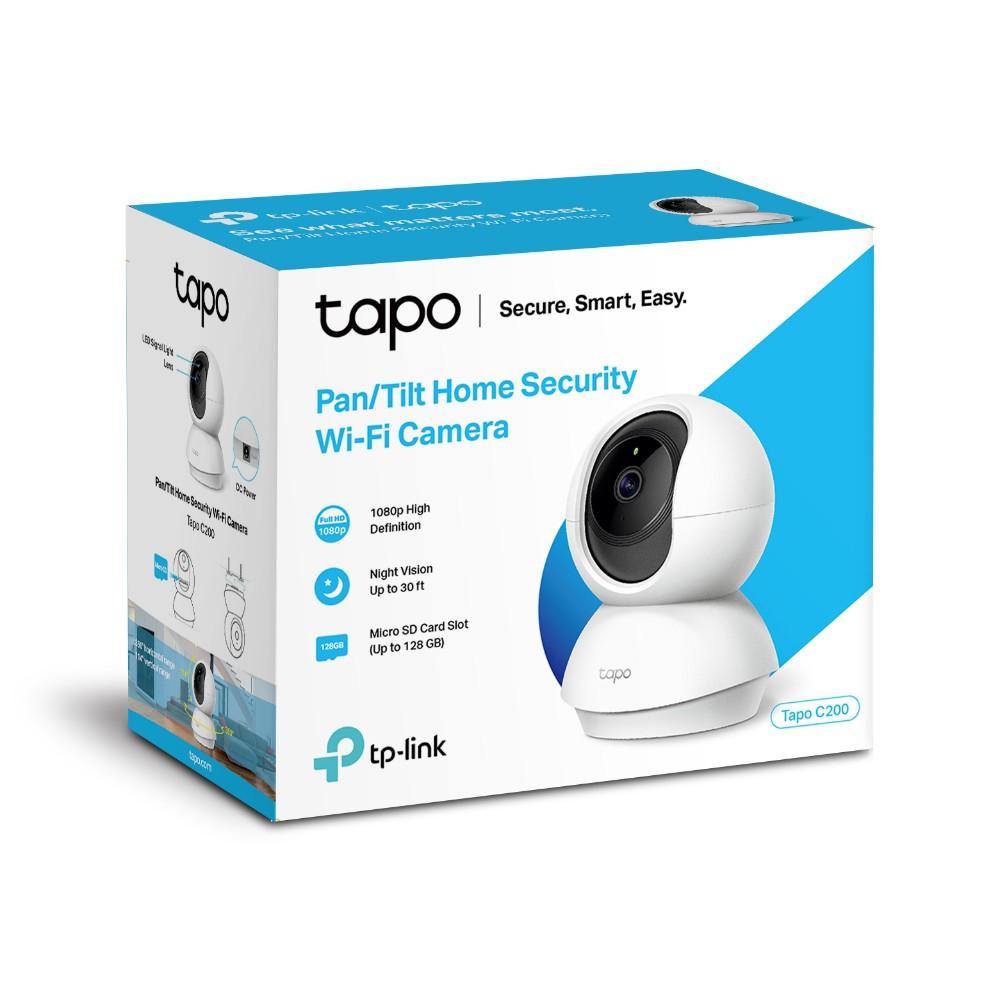 ประกัน 2ปี] TP-Link Tapo C200, Pan/Tilt Home Security Wi-Fi Camera ...