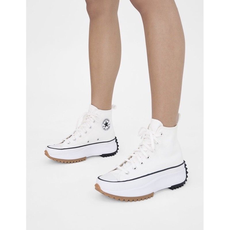 Converse run star hike - White Size 40และ 38.5