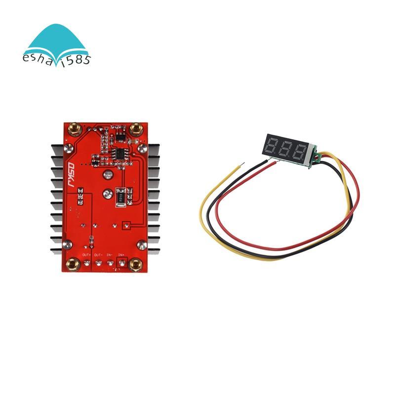 150W Dc 10-32V Dc 12-35V แผงโวลต์มิเตอร์ดิจิตอล Dc 0-100V มีไฟ Led สามารถปรับได้