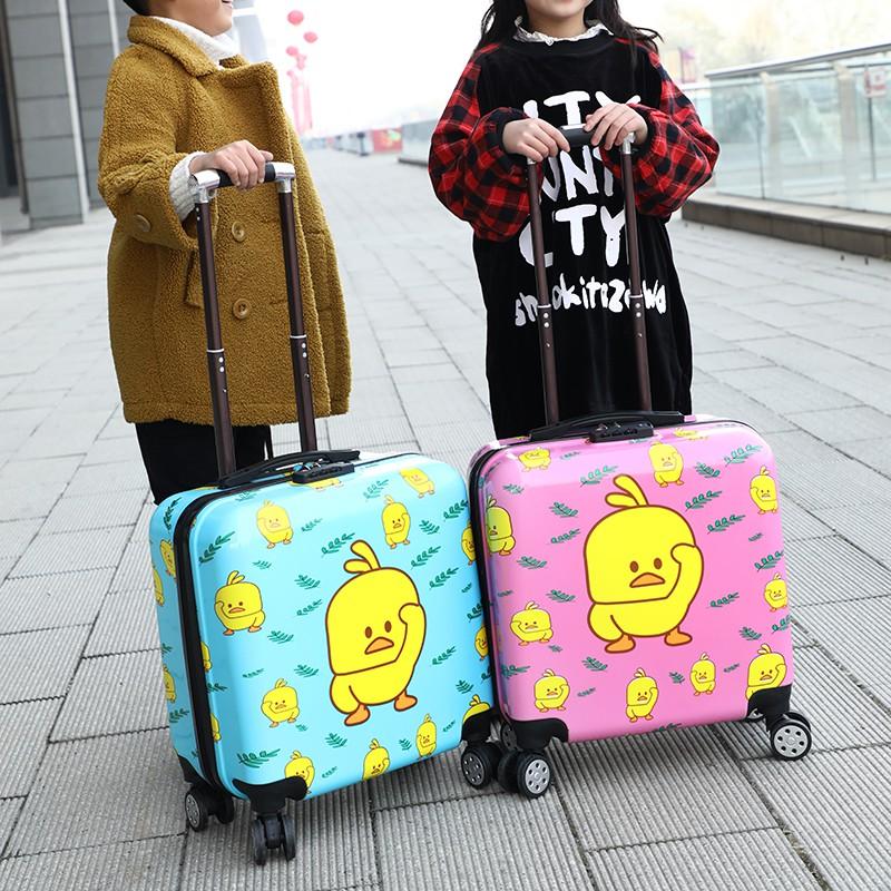 まヾกระเป๋าเดินทางเด็ก  กระเป๋ารถเข็นเดินทางรถเข็นเด็กสำหรับผู้ชายและผู้หญิงกระเป๋าเดินทางเด็ก 18 นิ้วกระเป๋าเดินทางเด็กล้