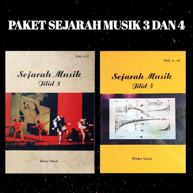 กระเป๋าหนังสือ 3 และ 4 Books Of Music Books ลายดนตรีมีเพลง