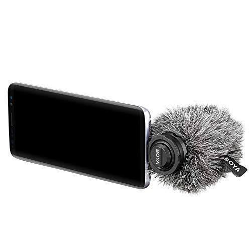 Boya by-dm100 usb type-c digital stereo microphone ไมค์สมาร์ทโฟน ไมค์Type-C ไมค์ไร้สาย ไมค์อัดเสียง ตัดเสียงรบกวน