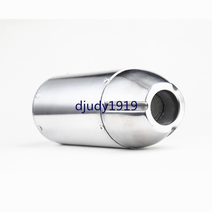 """5/"""" Tip Exhaust Backbox Stainless 2.5/""""//64mm inlet Universal Jap Weld-On Extension"""