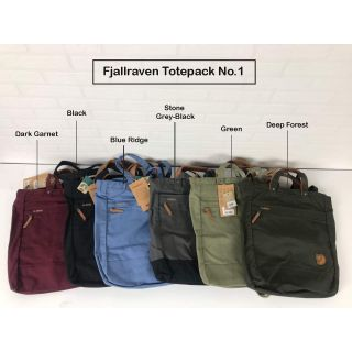 Review Fjallraven Totepack No.1 Small